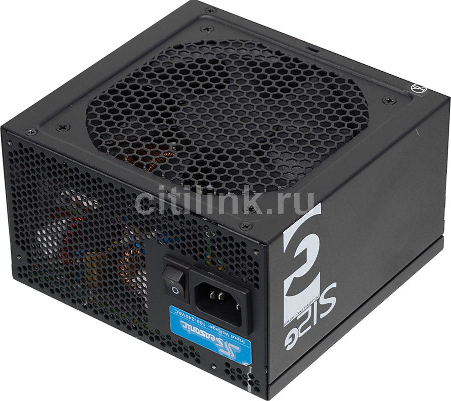 Блок питания SEASONIC S12G-750,  750Вт,  120мм,  черный, retail