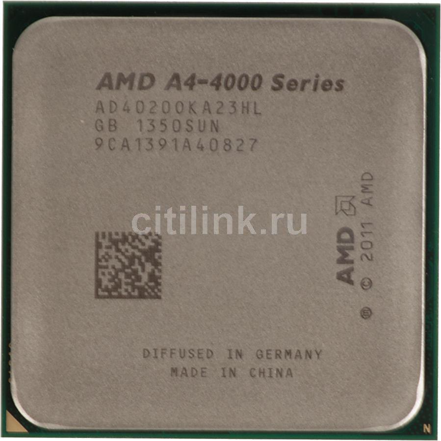 Процессор AMD A4 4020, SocketFM2 OEM [ad4020oka23hl]