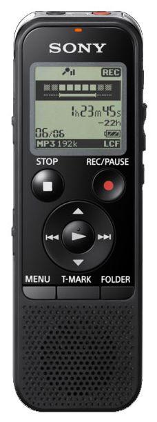 Диктофон SONY ICD-PX440 4 Gb,  черный [icdpx440.ce7]