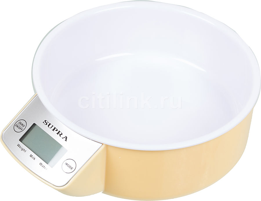 Весы кухонные SUPRA BSS-4085,  бежевый