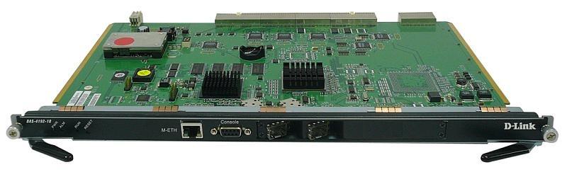 Модуль D-Link карта управления с 2 x mini-GBIC SFP слотами (DAS-4192-10)