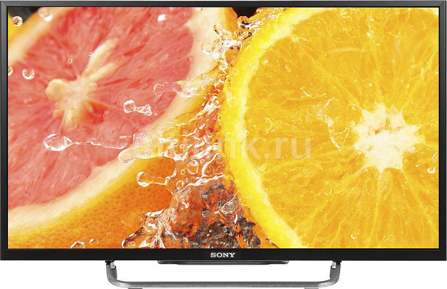 """LED телевизор SONY BRAVIA KDL-32W705B  32"""", FULL HD (1080p),  черный/ серый"""