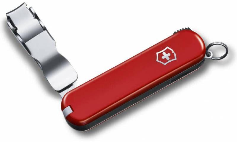 Нож перочинный Victorinox Nail Clip 582 (0.6453) 65мм 4функций красный