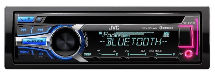Автомагнитола JVC KD-R951BTEY,  USB