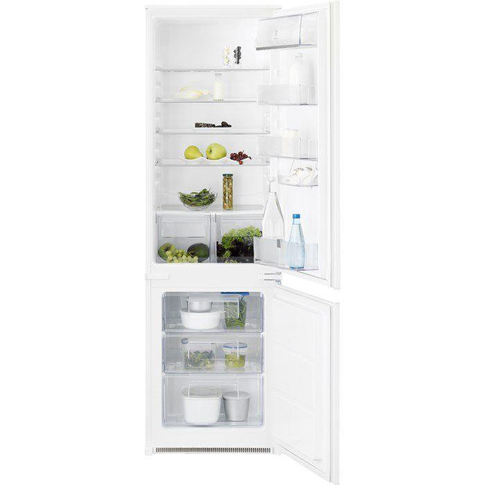 Встраиваемый холодильник ELECTROLUX ENN92801BW белый