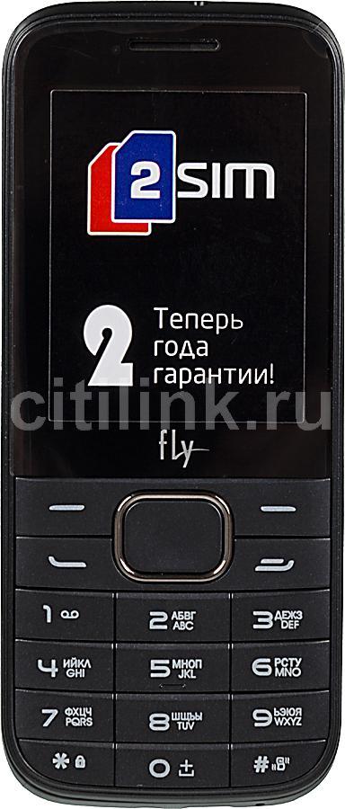 Мобильный телефон FLY DS115+  черный