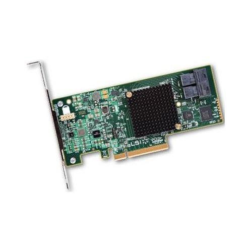 Контроллер LSI 9300-8I SGL 12Gb/s HBA 8i-ports (LSI00344)
