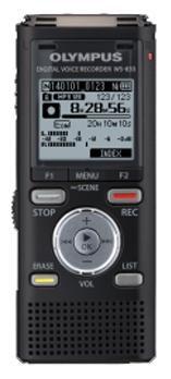 Диктофон OLYMPUS WS-833 8 Gb,  черный
