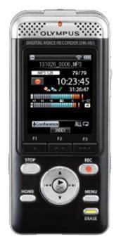 Диктофон OLYMPUS DM-901 4 Gb,  черный