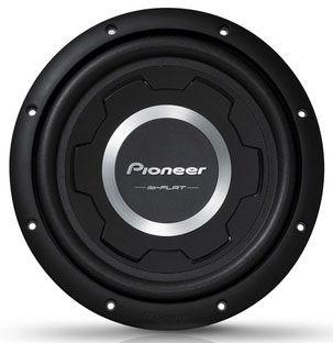 Сабвуфер автомобильный PIONEER TS-SW2501S2,  пассивный,  1200Вт