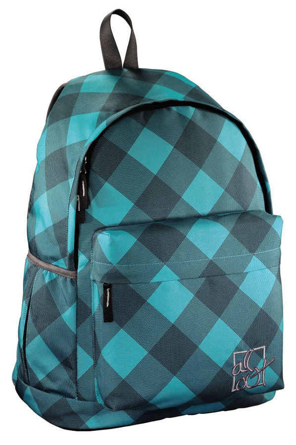 Рюкзак All Out Luton Blue Dream Check полиэстер серый/голубой [00129218]
