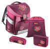 Ранец Step By Step Comfort Tweedy Hearts розовый/рисунок сердце 4 предмета [00129088] вид 1