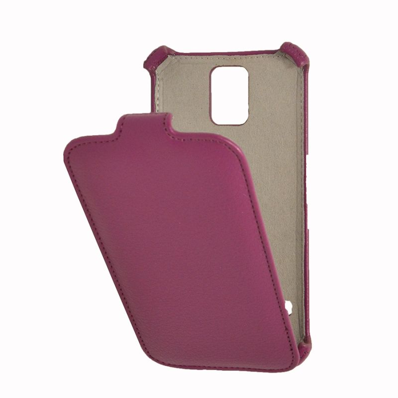 Чехол (флип-кейс) ARMOR-X flip, для Samsung Galaxy S5, пурпурный