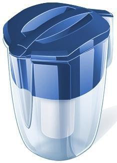Фильтр для воды АКВАФОР Кантри,  синий,  3.9л