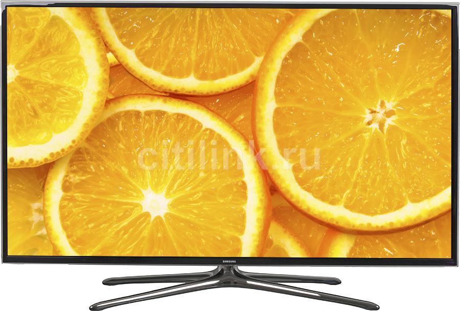 "LED телевизор SAMSUNG UE48H6350AK  ""R"", 48"", 3D,  FULL HD (1080p),  черный"
