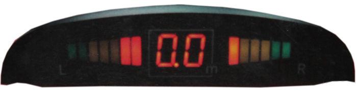 Парковочный радар PHANTOM PS 4C,  черный [ps 4c (bl)]