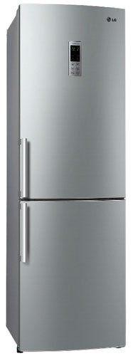 Холодильник LG GA-B489ZVCK серебристый (плохая упаковка)