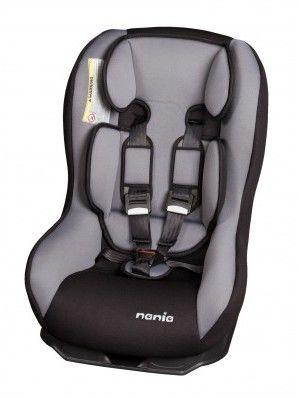 Автокресло детское NANIA Driver FST, 0+/1, серый/черный [043394, 042394]