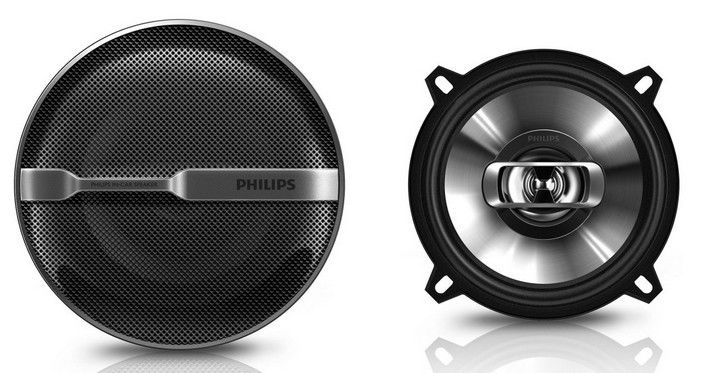 Колонки автомобильные PHILIPS CSP515,  коаксиальные,  180Вт,  комплект 2 шт. [csp515/00]