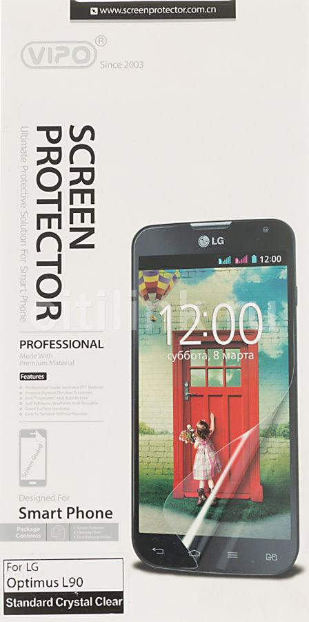 Защитная пленка для экрана VIPO для LG Optimus L90 (D405),  прозрачная, 1 шт