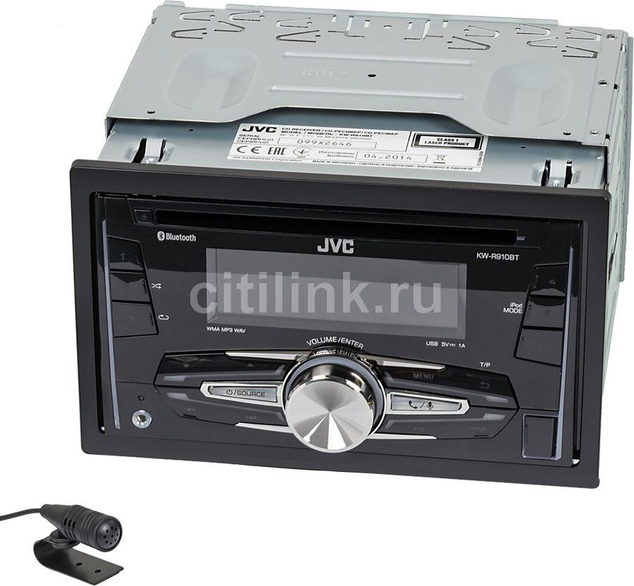 Автомагнитола JVC KW-R910BTEY,  USB