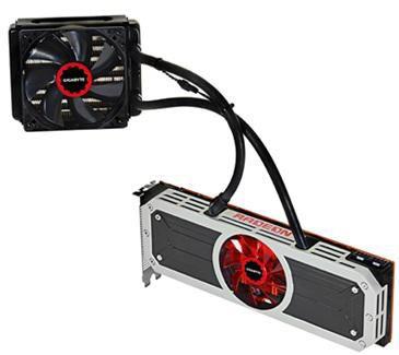 Видеокарта GIGABYTE Radeon R9 295X2,  8Гб, GDDR5, Ret [gv-r9295x2-8gd-b]