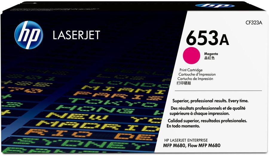 Картридж HP 653A пурпурный [cf323a]