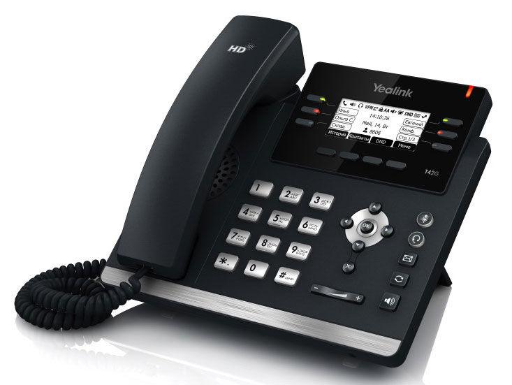 IP телефон YEALINK SIP-T41P