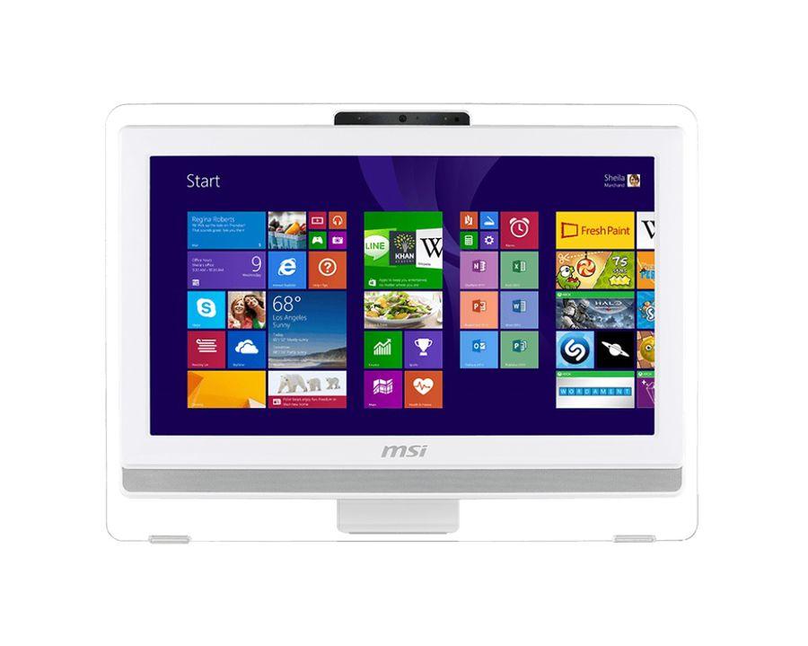 Моноблок MSI AE203G-014, Intel Core i3 4150, 4Гб, 500Гб, nVIDIA GeForce GT740M - 2048 Мб, DVD-RW, Windows 8.1, белый [9s6-aa8a12-014]