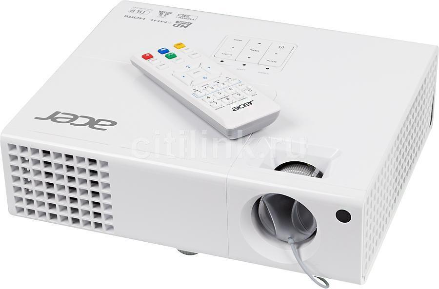 Проектор ACER X1373WH белый [mr.jjz11.001]