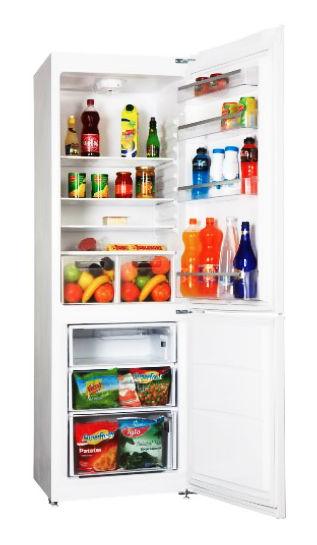 Холодильник VESTEL VCB 385 VX,  двухкамерный,  серебристый
