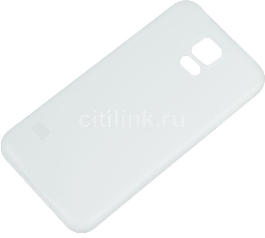 Чехол (клип-кейс) HAMA Ultra Slim, для Samsung Galaxy S5, белый [00124672]