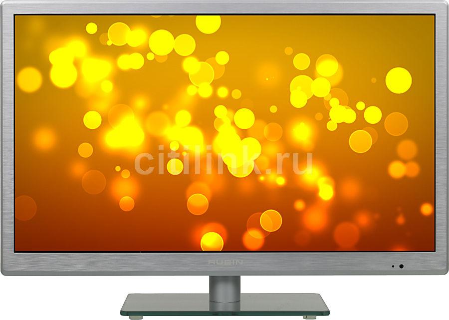 "LED телевизор RUBIN RB-24SE5FSR  ""R"", 24"", HD READY (720p),  серебристый"