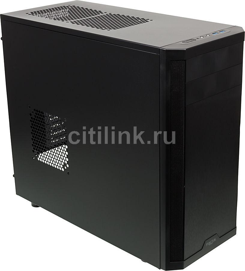 Корпус ATX FRACTAL DESIGN Core 3300, Midi-Tower, без БП,  черный