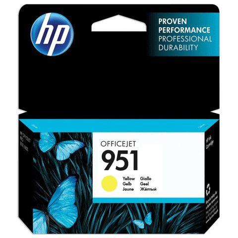 Картридж HP CN052AE желтый