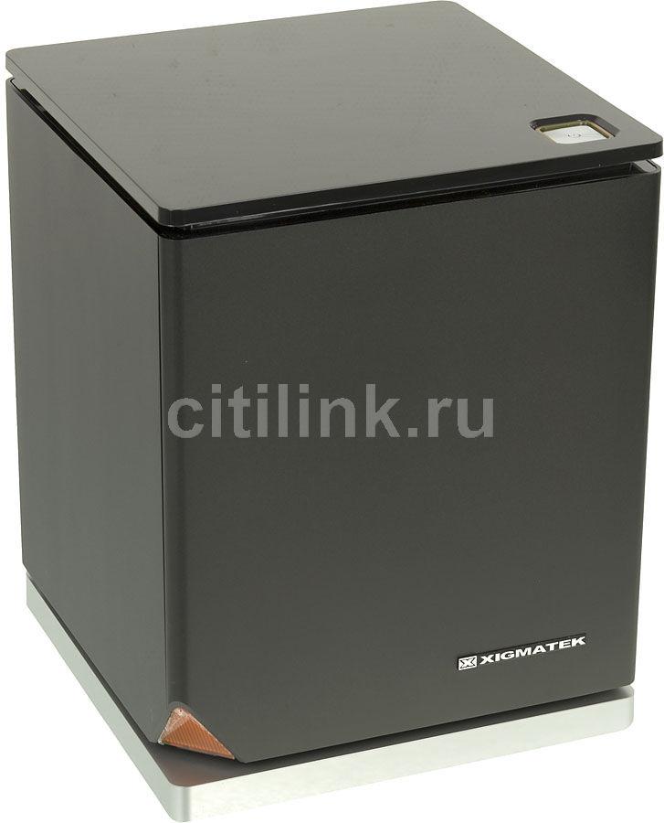 Корпус miniITX XIGMATEK Nebula, Mini-Tower, без БП,  черный