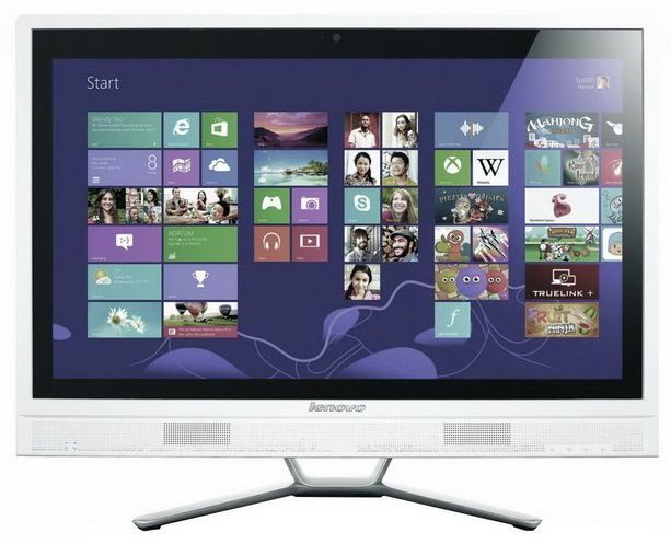 Моноблок LENOVO C560, Intel Pentium Dual-Core G3240T, 4Гб, 1000Гб, nVIDIA GeForce 800M - 2048 Мб, DVD-RW, Windows 8.1, белый [57326470]