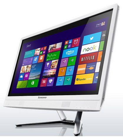 Моноблок LENOVO C360, Intel Core i3 4150T, 4Гб, 1000Гб, nVIDIA GeForce 800M - 2048 Мб, DVD-RW, Windows 8.1, белый [57326446]