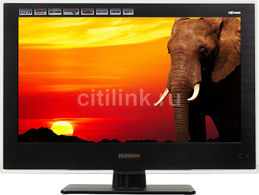 """LED телевизор TELEFUNKEN TF-LED15S18  """"R"""", 15.6"""", HD READY (720p),  черный"""