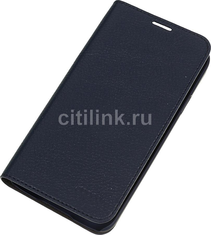 Чехол (флип-кейс) DEPPA Wallet Cover, 84028, для Samsung Galaxy S5, синий
