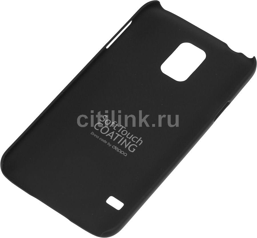 Чехол (клип-кейс) DEPPA Air Case, 83056, для Samsung Galaxy S5, черный