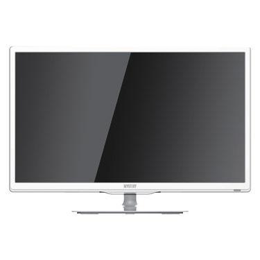 "LED телевизор MYSTERY MTV-2423LW  ""R"", 24"", FULL HD (1080p),  белый"