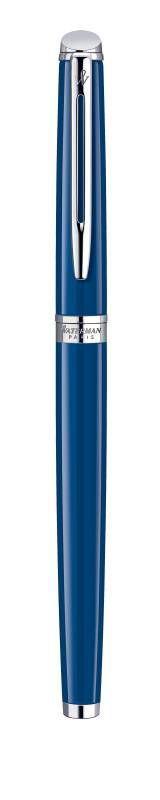Ручка перьевая Waterman Hemisphere (1904598) Blue CT F сталь с хромированным покрытием подар.кор.