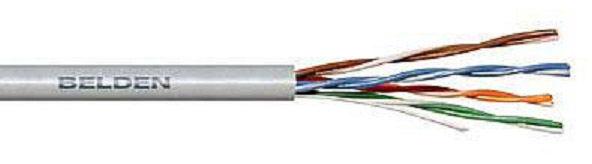 Кабель информ. Belden (1583E.00U305) кат.5е U/UTP 4X2X24AWG PVC универс. 305м сер.