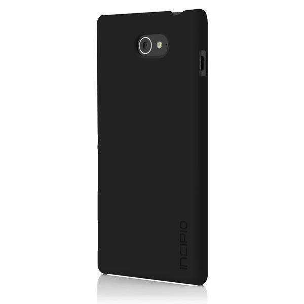 Чехол (клип-кейс) INCIPIO Feather, для Sony Xperia M2, черный [se-258-blk]