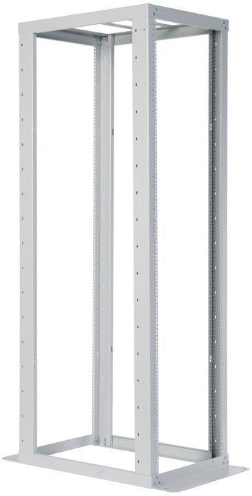 Стойка двухрамная ЦМО (СТК-С-45.2.1000) 45U 560ммX1280мм направл.закл.гайки 480кг серый