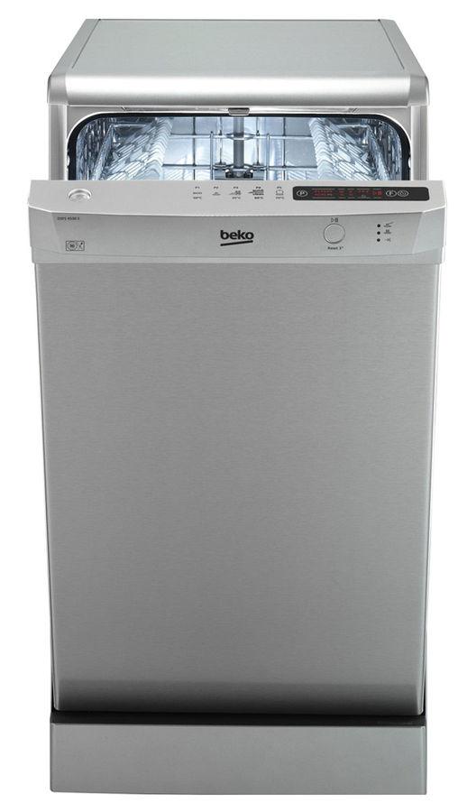 Посудомоечная машина BEKO DSFS 4530 S,  узкая, серебристая
