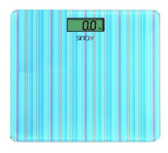 Напольные весы SINBO SBS 4427, до 150кг, цвет: голубой