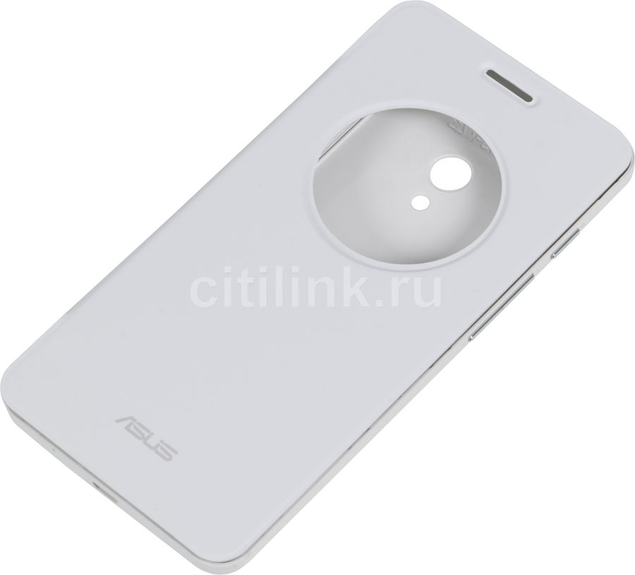 Чехол (флип-кейс) ASUS View Flip Cover, для Asus ZenFone 5 (A500CG/A501CG) ZenFone 5 LTE (A500KL), белый [90xb00ra-bsl1x0]