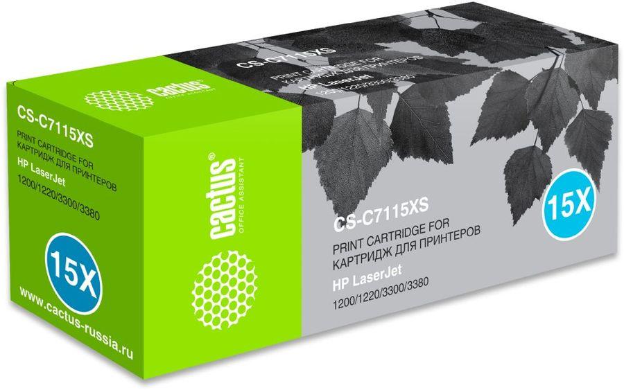Картридж CACTUS CS-C7115XS черный